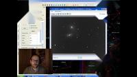 Comet C2018 Y1 Iwamoto meets the spiral galaxy NGC 2903