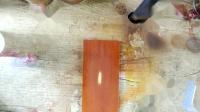 家具维修补漆美容修复教学00A00308-浅红棕色家具快修