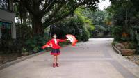 扇子舞珊瑚颂 (2)一广场舞一广州市花都区天马河秀玲健身队