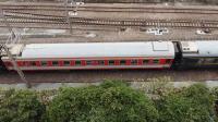 入助武局江段的HXD3C型电力机车牵引3452次列车从广州北站通过