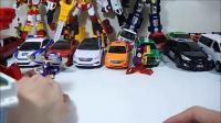 腕带手表卡片玩具召唤汽车机器人