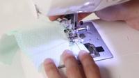 『家用缝纫机』做出『锁边机』的效果