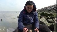 农人川子赶海童年篇:易拉罐烤海鲜,捡到红贝和海虹这样烤着吃!