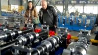 Metal Roofing Sheet Roll Forming Machine with Gearbox Transmission