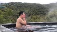 V2019006# 常州天目湖-御水温泉,竹尖上泡澡的感觉很好