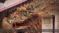 开挂的建筑工人是如何干活呢?看完这操作,国内工人不服都不行!
