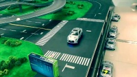 智能佳微型智能车先导实验平台避障展示