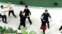 媛媛老师团队空中录的集体舞