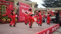 腰鼓《中国歌最美》表演者:陕西省铜川市王益区穆东风等