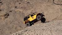 SCX10牧马人GTR攀爬废墟小道