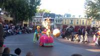 美国迪士尼花车表演