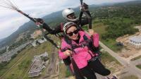 2018马来西亚沙巴可可山滑翔伞
