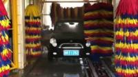 泳乾智能洗车机视频