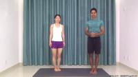 印度老师中文讲解瑜伽体式(祈祷式)视频精讲  教您如何安全练习