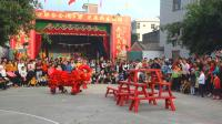 2019黄略村传统年例文化节  深圳腾艺醒狮团  凳青 步步高升