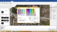 03.背景和鼠标颜色设置——HiData航测软件
