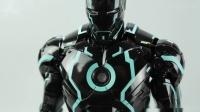 《创战纪》配色的钢铁侠,亮灯的瞬间惊艳到我了!【涛哥测评】 - 创展光速蓝钢铁侠