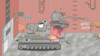 坦克世界动画:小坦克战斗力很强