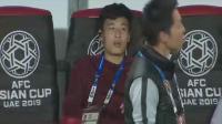 亚洲杯:国足抵达赛场,球员表情轻松了!