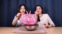 小伶玩具:女生必备的粉色魔法包,水冰月一样美丽