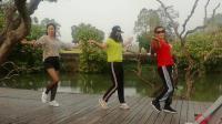 增城石滩舞蹈队在增城挂绿广场献舞