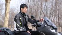 【摩托车杂志】标致Metropolis RXR倒三轮摩托车功能演示及冬季改装部品介绍
