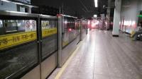 上海地铁1号线102号车莘庄站折返
