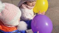 20190308阿姨给的气球🎈宝宝好喜欢