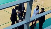 揪心!孙完虎脚踝受伤担架抬出,奥运或受影响?