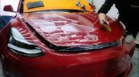 全疆首台特斯拉Model 3施工尼克NICK「N-86」👏🏻感谢特斯拉车友对尼克NICK新疆团队的信任与支持[抱拳]漆面保护,从尼克NICK开始[拳头]