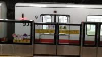 上海地铁1号线105号车莘庄站折返(第2部)