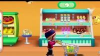 超级飞侠:艾莎、乐迪超市满载而归