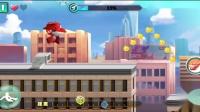超级飞侠环球大冒险 乐迪打败蜗牛小怪兽游戏