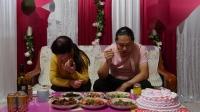 4K纪录片 晚上吃饭 六个菜 感觉还可以 哈哈! 朱坤 2019-3-29