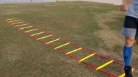 日本足球运动员32种敏捷梯训练步法 提升協調性 敏捷性 脚下速率