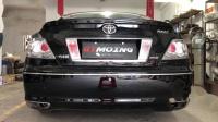 丰田锐志2.5L改装GTMOING中尾段双阀门排气管声浪