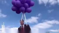Одесса прощается с Порошенко, на воздушных шариках