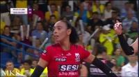 2019.04.08 [第1+2局] 海滩 3-0 Sesi Bauru - 半决赛第2回合 - 201819巴西女排超级联赛