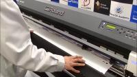 GR-640切割机从VersaWorks中执行穿孔切割