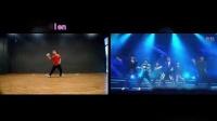 我在bobylien最新kpop教学EXO-MAMA最详细舞蹈分解教学视频截了一段小视频