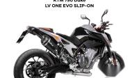 KTM 790 DUKE LV ONE EVO SLIP-ON  Part #14256S Preview Sound