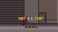 SFC SNES《超凡蜘蛛侠:致命之敌》游戏速通关演示(12193)