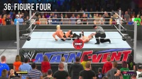 50 FINISHERS TO B LESNAR! 2K15