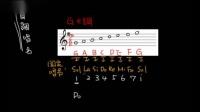 【名师讲乐理】第一章音乐基础 04首调唱名与固定唱名