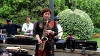小吴在徐家汇公园萨克斯演奏(万水千山总是情