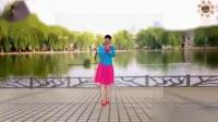 我在阳光美梅广场舞《格桑花开》原创优美中三步-正背面演示附教学-编舞:美梅截了一段小视频