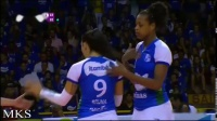 2019.04.21 [第2+3局] 米纳斯 3-2 海滩 - 决赛第1回合 - 201819巴西女排超级联赛