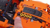 乐高42093 Technic Chevrolet Corvette ZR1 ! LEGO积木砖家评测