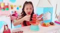 小萝莉小正太的美食制作大比拼 糕点 水果拼盘