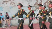 襄阳职业技术学院 运动会彩排仪式